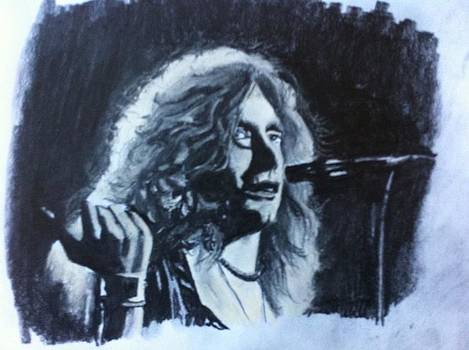 Robert Plant. by Alessandro Cedroni
