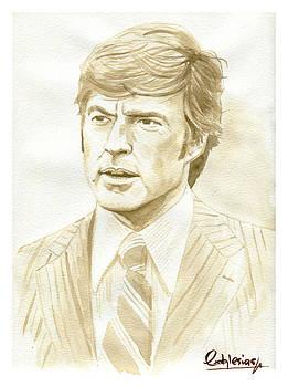Robert Redford by David Iglesias
