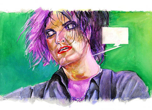 Robert Smith The Cure by Miguel Osorio