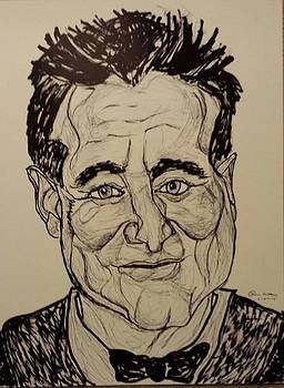 robin Williams by Ron Anthony