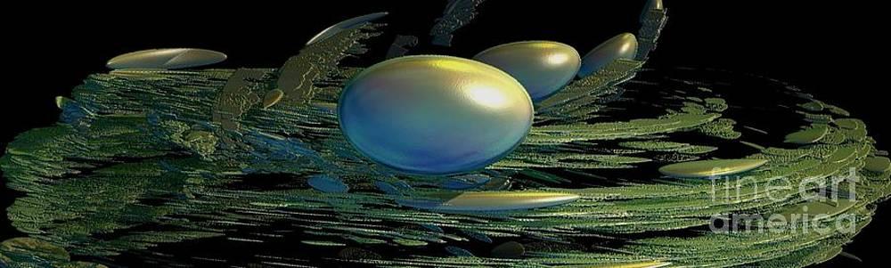 Gail Matthews - Robins Nest and Eggs