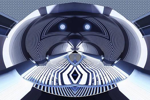 Robot Head by Richard Newman