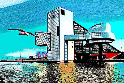 Rock and Roll Hall of Fame - Cleveland Ohio - 4 by Mark Madere