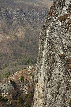 Rock Climbing Shortoff Mountain by Adam Paashaus