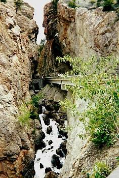 Gail Matthews - Rock Cut and Waterfall Stream
