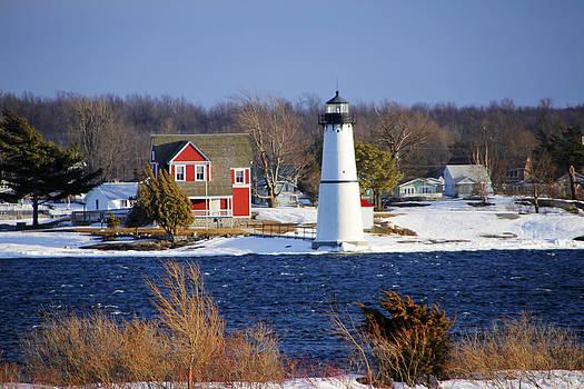 Rock Island Lighthouse by David Simons