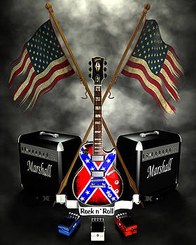 Frederico Borges - Rock n Roll crest- USA