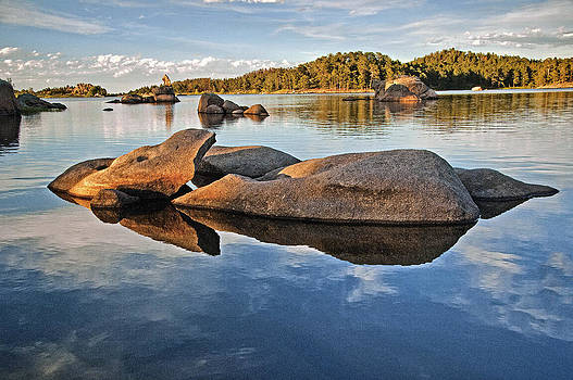 James Steele - Rock Refections at Dowdy Lake Co