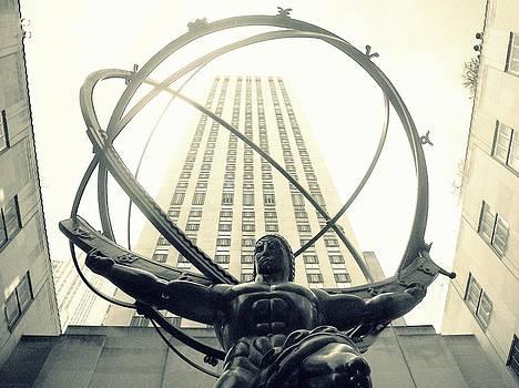 'Rockefeller Center and Atlas' by Liza Dey