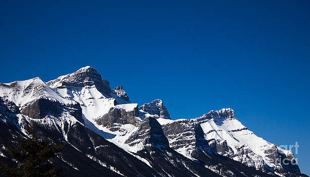 Rockies Under a Perfect Blue Sky by Deanna Wright