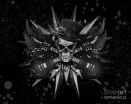 Rockin Skull Design by Suzi Nelson