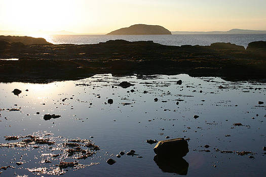 Rockpool Sunset by Fraser McCulloch