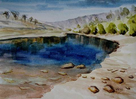 Rocks and Water by Patricia Seitz