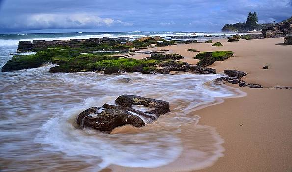 Rocks On The Beach #2 by Terry Everson