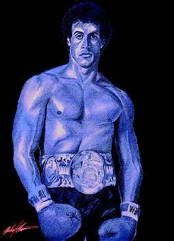 Rocky Blue by Michael Mestas