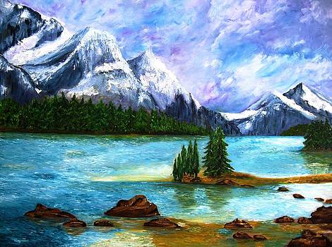 Rocky Mountain by Doris Cohen