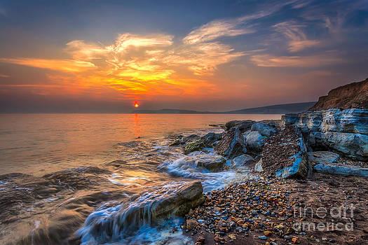 English Landscapes - Rocky Point Sunset