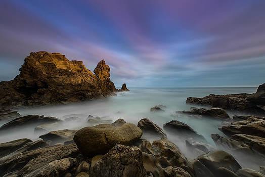 Larry Marshall - Rocky Southern California Beach