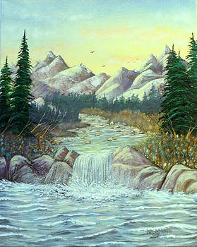 Rocky Waters by David Bentley