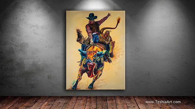 Teshia Art - Rodeo Wild Art Showcase Image