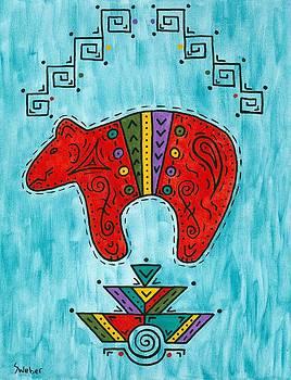 Rojo Oso by Susie WEBER