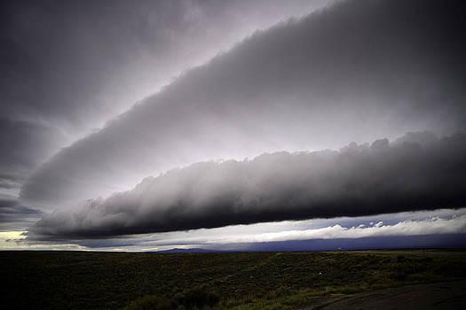 Roll and Shelf Clouds on South Hill by Eric Nielsen