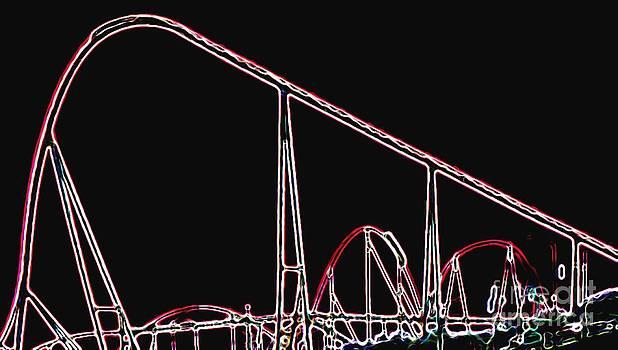 Gail Matthews - Roller Coaster Abstract