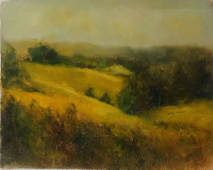 Rolling Hills of Virginia by Joan Sicignano