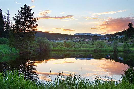 James BO  Insogna - Rollinsville Colorado Sunset