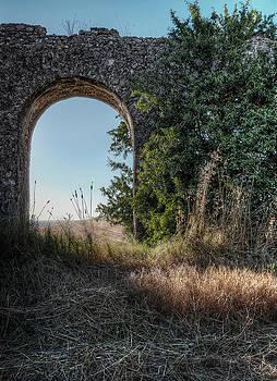 Roman aqueduct by Leonardo Marangi
