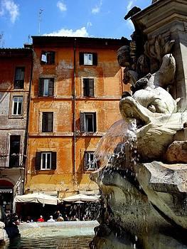 Roman Fountain  by Natalya Karavay