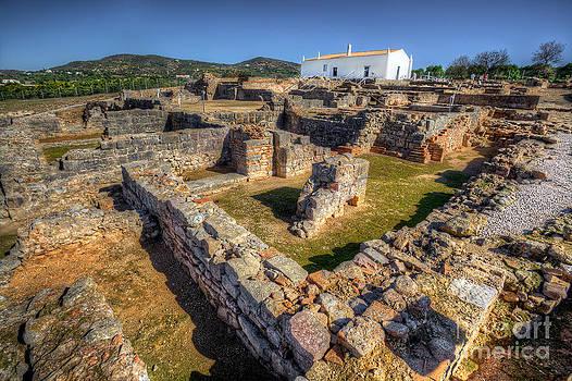 English Landscapes - Roman Ruins at Milreu