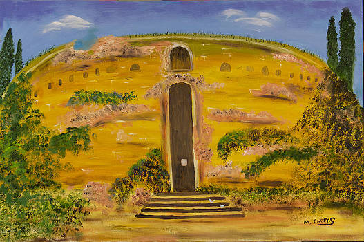 Roman Tomb by Margaret Pappas