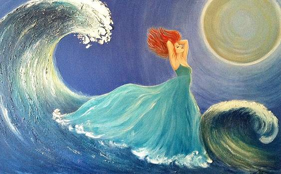 Romancing The Waves by Marina Hanson