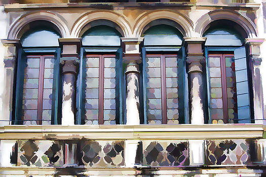 Romantic Window by Indiana Zuckerman