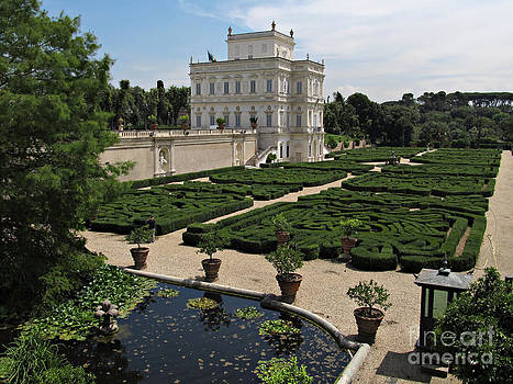 Rome Villa Doria Pamphili by Kiril Stanchev