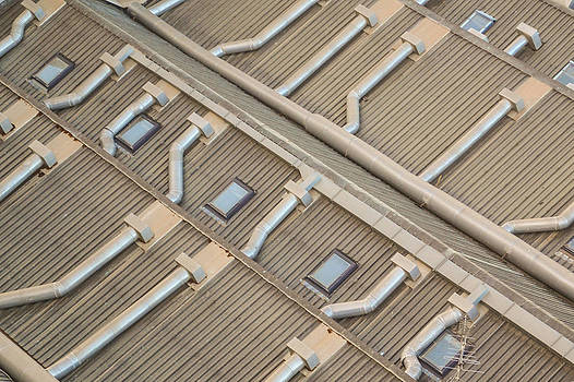 Rooftop Ducts by Bill Mock