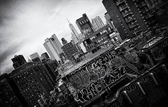 Rooftop Graffiti by Peter Aitchison