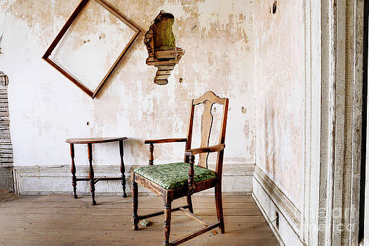 Room with a chair by Don Fleming