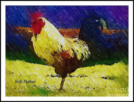 Rooster-2003 by Arif Zenun Shabani