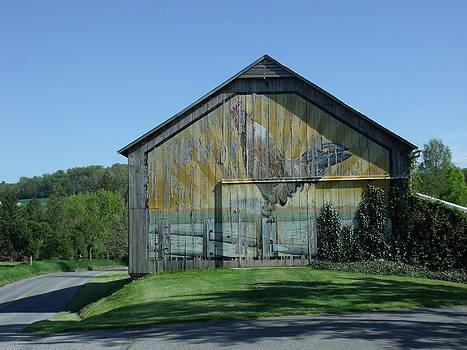 Rooster Barn by Terrilee Walton-Smith