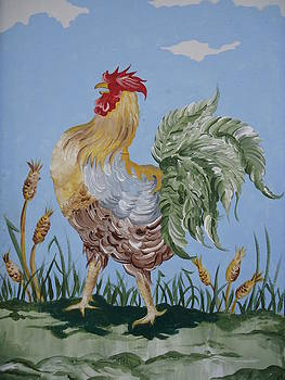 Rooster by Leslie Manley