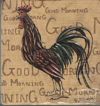 Rooster Plaque by Callie Smith