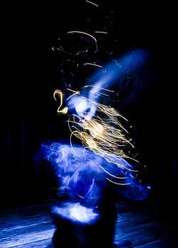 Roscoe in Blue by Ken Rutledge