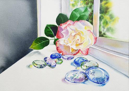 Irina Sztukowski - Rose and Glass Rocks