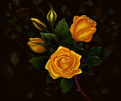 Rose Buddies by Sena Wilson