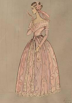 Rose crinoline by Damira Fuzul