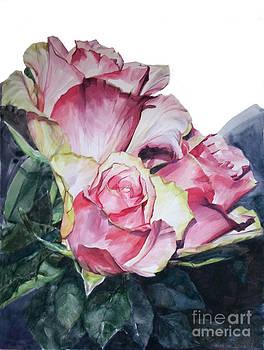 Pink Rose Michelangelo by Greta Corens