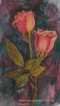 Rose by Usha Rai