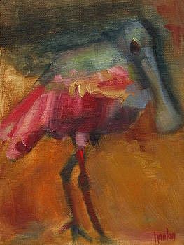 Roseate Spoonbill by Susan Hanlon